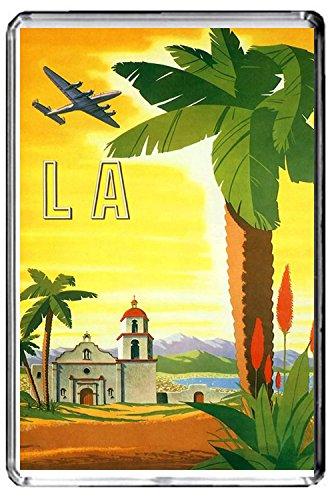 A328 LOS ANGELES FRIDGE MAGNET USA TRAVEL VINTAGE REFRIGERATOR MAGNET