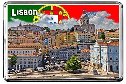 C305 LISBON PORTUGAL FRIDGE MAGNET PORTUGAL TRAVEL VINTAGE REFRIGERATOR MAGNET