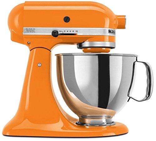 KitchenAid 45 Quart Tilt Head Stand Mixer Tangerine Color