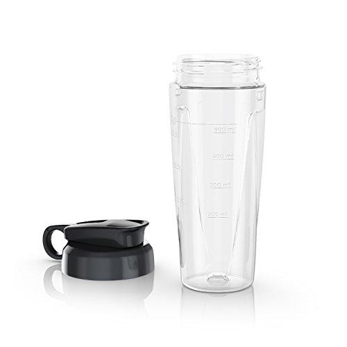 BLACKDECKER PowerCrush Personal Blender Jar with Travel Lid Clear PBJ1650