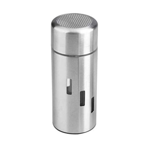 UPKOCH Stainless Steel Spice Shaker Seasoning Dispenser Salt Pepper Sugar Container for Restaurant Hotel Dorm Home