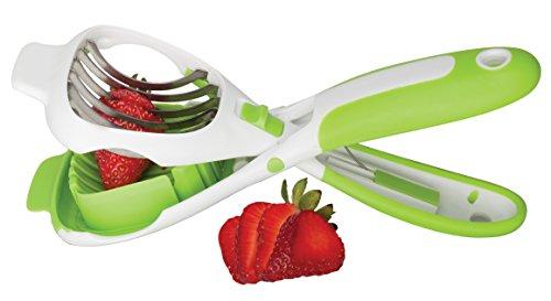The Worlds Greatest Handy Dandy Slicer For Eggs Fruit Mushrooms Stainless Steel Blades