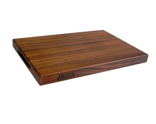 John Boos Reversible Cutting Board, 18 By 12 By 1.5-inch, Walnut