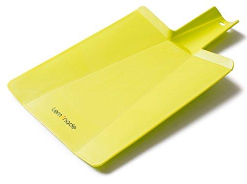 LEMONADE Premium Folding Cutting Board Kitchen Slate For Cutting Chopping Slicing Vegetables Meat Fish More -Practical Scoop Design Ergonomic Handle