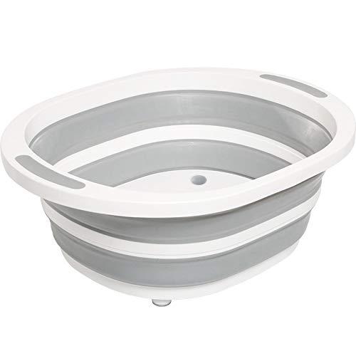 kebyy Folding Cutting Board Draining Basket Fruits Vegetables Wash Drain Sink Storage Baske
