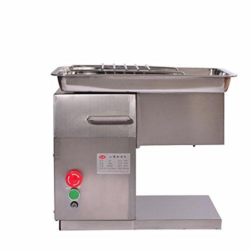 Kohstar 110V220V QX Stainless Steel Meat SlicerCutter Desktop Type Meat Cutter Meat Cutting Machine