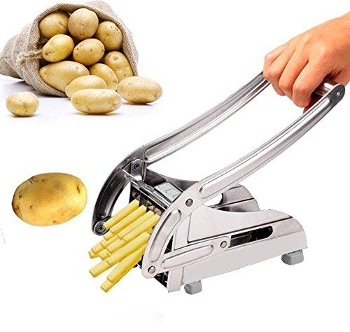 Stainless Steel French Fry Cutter Maker Vegetable Slicer Chopper Potato EE