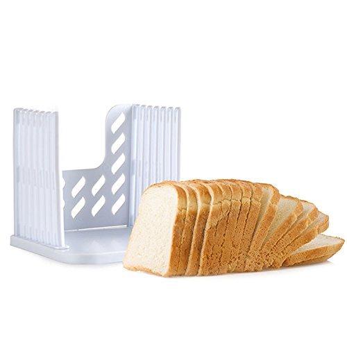 KINGZHUO Bread Slicer Toast Slicer oast Cutting Guide Bread Toast Bagel Loaf Slicer Cutter Mold Sandwich Maker Toast Slicing Machine