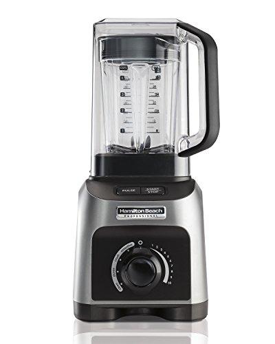 Hamilton Beach Professional 1500W Quiet Shield Blender with 32 oz BPA-free Jar 4 Programs Silver 58870