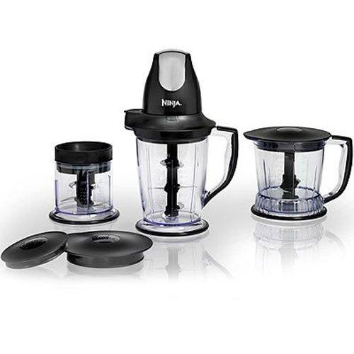 Ninja Master Prep Professional System - Chopper Blender Food Processor - QB1004 Certified Refurbished