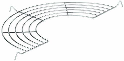 Paderno World Cuisine 13-Inch Chromed Steel Tempura Rack