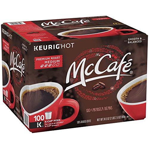McCafe Premium Roast Coffee K-CUP PODS 100 Count