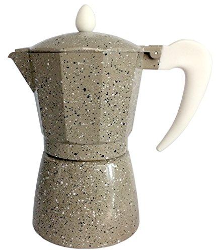 Cuisinox Crema COF-3MA 3-Cup Espresso Stovetop Coffeemaker Beige