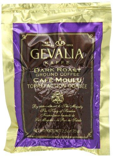 Gevalia Dark Roast Ground Coffee 25-Ounce Packages Pack of 24
