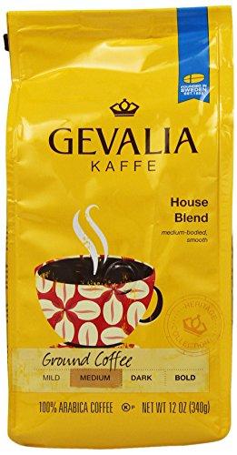 Gevalia Ground Coffee House Blend 12oz Bag Pack of 2