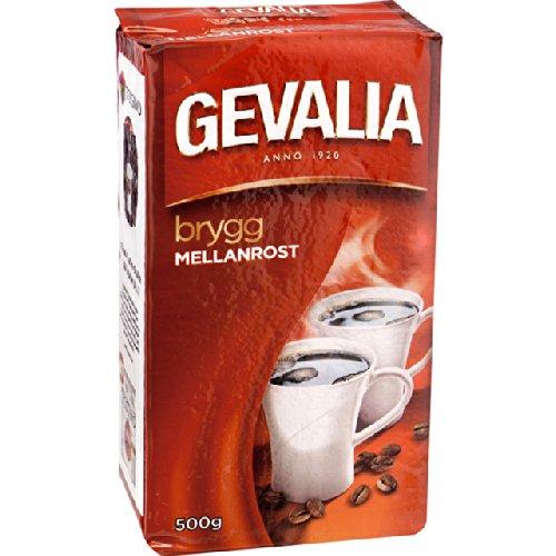 Gevalia Kaffe Mellanrost - Medium Roast Ground Filter Coffee 500g