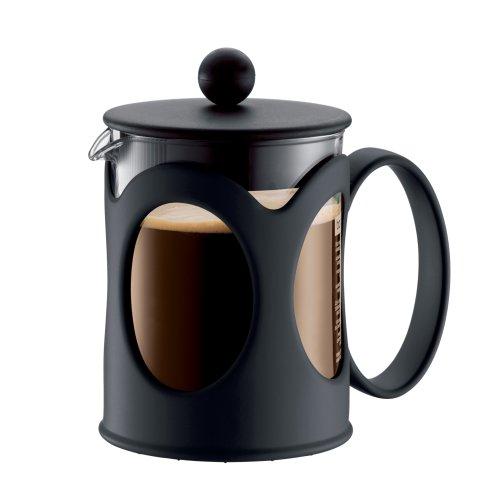 Bodum KENYA Coffee Maker French Press Coffee Maker Black 17 Ounce