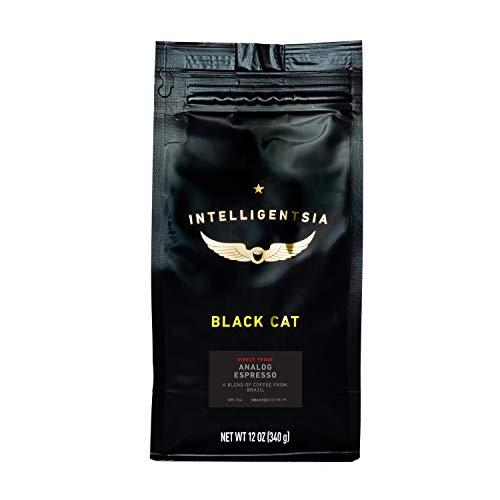 Intelligentsia Black Cat Analog Espresso - 12 oz - Dark Roast Direct Trade Whole Bean Coffee