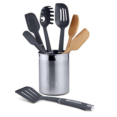 Calphalon 8-Piece Gourmet Mixed Kitchen Utensil Set