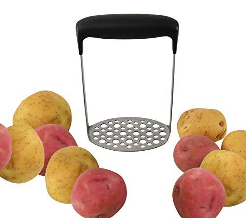 HOME-X Potato Masher Kitchen Utensils for Making Baby Food Applesauce Guacamole