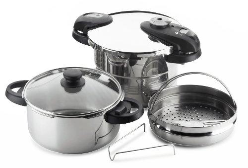 Fagor Futuro 5-Piece Pressure-Cooker Set