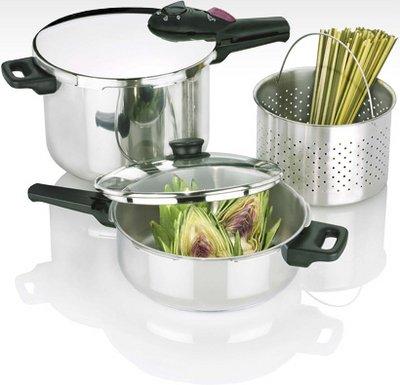 Fagor Splendid 8 4-qt Pressure Cooker Set