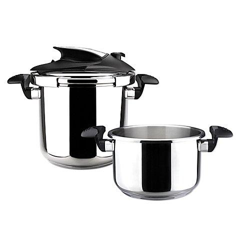 Magefesa Nova Stovetop 3-Piece Pressure Cooker Set