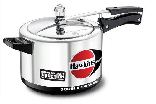 HAWKINS H56 Hevibase Induction Compatible Aluminum Pressure Cooker 5-Liter