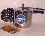 Hawkins HS10L Stainless Steel Pressure Cooker 10-Liter