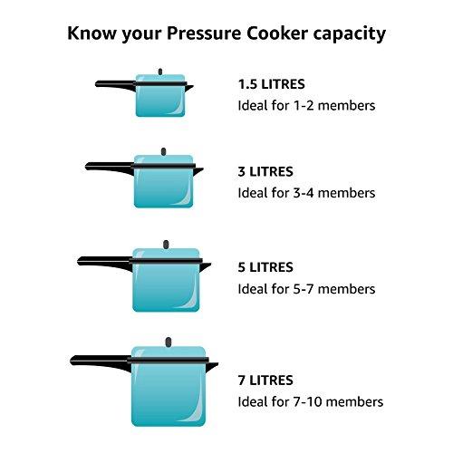 Hawkins Pressure Cooker Stainless Steel 2 Ltr