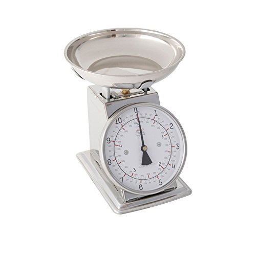 Taylor Stainless Steel Analog Kitchen Scale 11 Lb Capacity
