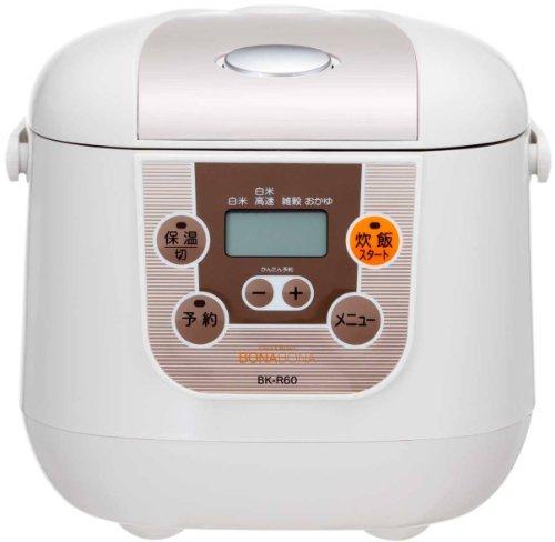 CCP BONABONA microcomputer rice cooker 35 Go White BK-R60-WH