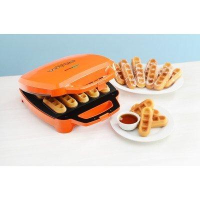 Babycakes Waffle Stick Maker - Orange