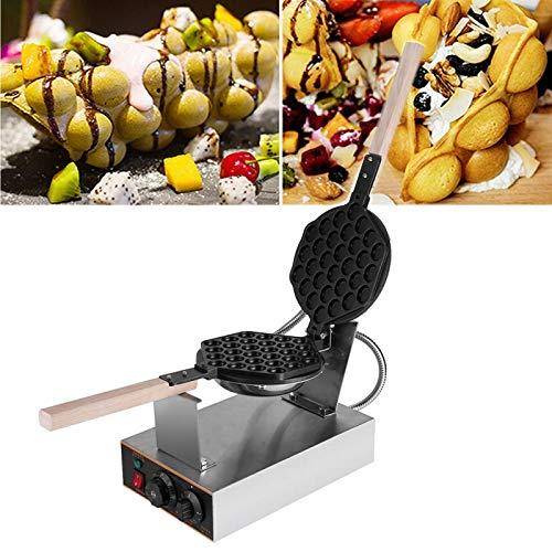Waffler Maker Electric Non stick Hong Kong Egg Waffle Maker Egg Cake Machine Temperature Adjustable 110V