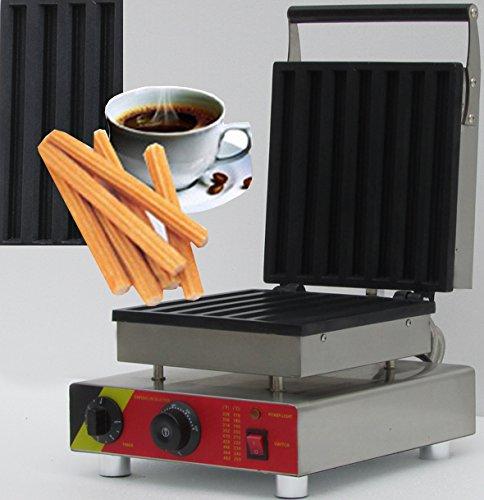 Hanchen Instrument NP-21 7pcs Commercial Churro MachineElectric Chinese Donut MakerRectangular Waffle Machine 110V220V