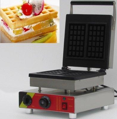 Hanchen Instrument NP-589 2pcs Commercial Waffle Maker Electric Waffle Machine No-stick Belgian Waffle Baker 110V220V Rectangle