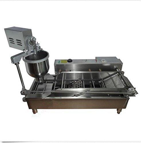 18L Automatic Commercial Donut Fryer maker Making Machine Donut Robot 220V AC 50Hz