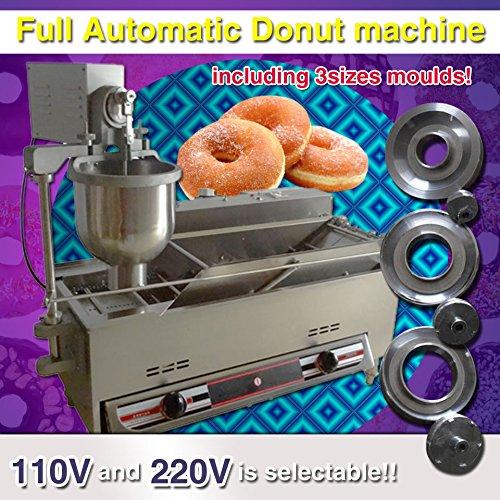 Yoli Gas or Electric Donut Machinedonut Fryer Machinedonut Makerdonut Machineryauto Donut Producerelectric Cake Auto Donut Machinedonut Robotthree Sizes Molds