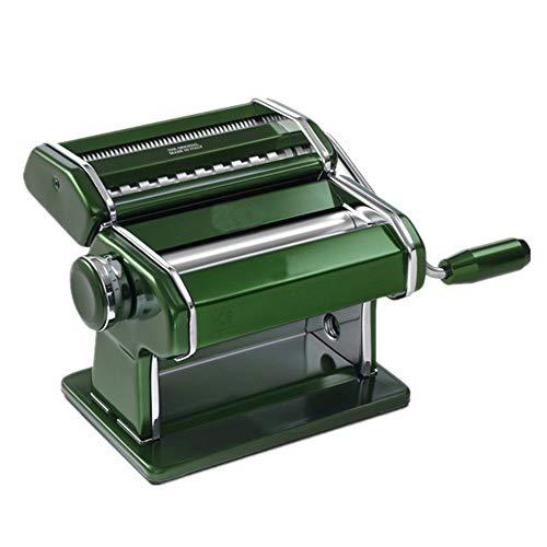 Zhouminli Pasta Makers Accessories Manual Noodle Maker Perfect for Make Fresh Spaghetti Or Fettuccini Pasta Machine Hand Crank Pasta Roller Machine Kitchen Accessories Manual Machines