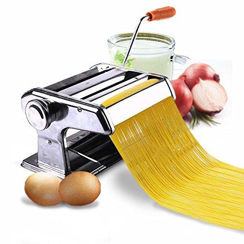 150mm 6 Pasta Maker Roller Machine Noodle Spaghetti Fettuccine Maker Health