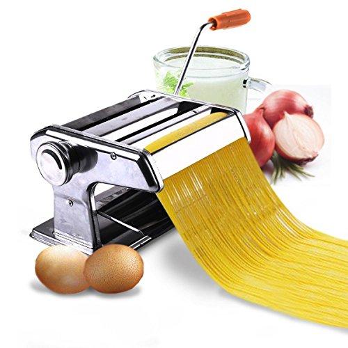 New 150mm 6 Pasta Maker Roller Machine Noodle Spaghetti Fettuccine Maker Health