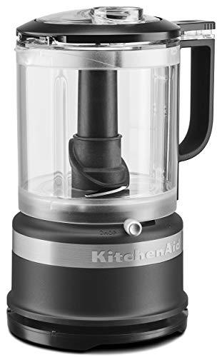 KitchenAid KFC0516BM 5 Cup Whisking Accessory Food Chopper Black Matte