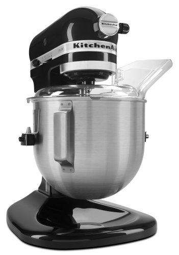 KitchenAid KSM500PSOB Pro 500 Series 10-Speed 5-Quart Stand Mixer Onyx Black