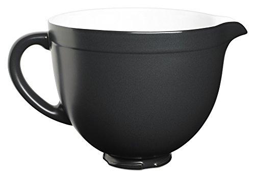 KitchenAid KSMCB5BM 5-Qt Tilt-Head Ceramic Bowl - Black Matte