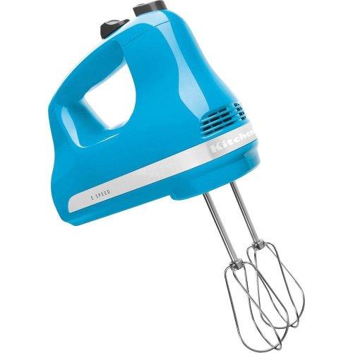 KitchenAid Ultra Power 5-Speed Hand Mixer Crystal Blue blue