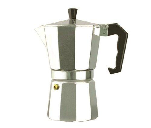 Primula Aluminum 3-Cup Stovetop Espresso Coffee MakerEspresso coffee potMoka coffee maker 300ml