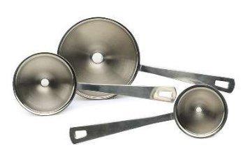Rsvp Endurance 18/8 Stainless Steel Mini Funnel, Set Of 3