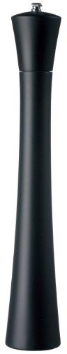 Fletchers Mill Newport Pepper Mill Black Stain - 17 Inch Adjustable Coarseness Fine to Coarse MADE IN USA