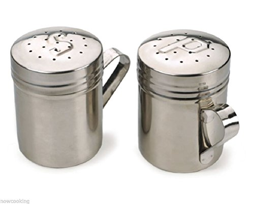 Comixpro 188 Stainless Steel Salt Pepper Shakers Set Stovetop Grill Bbq Table