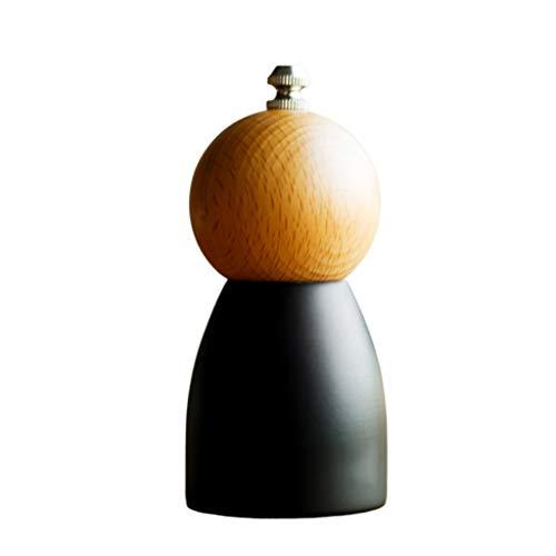 Pepper grinder Adjustable Salt and Pepper Grinder Wooden Salt and Pepper Mills Shakers with Ceramic Core Ajustable Pepper grinder